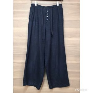 Chadwicks Linen Wide Leg Trousers